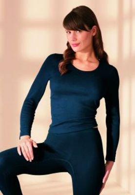 Angora Long Sleeved Thermal Top | Totally Warm
